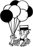 Balloon Man Royalty Free Stock Photography