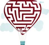 Balloon Maze Stock Photography