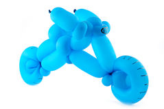 Balloon motorcycle Royalty Free Stock Photography
