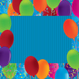 Balloon Music Confetti Background_eps Stock Photos
