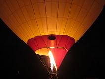 Balloon in the night Royalty Free Stock Image