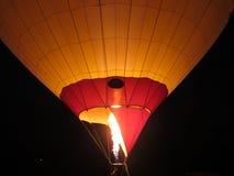 Balloon in the night. Summer balloon festival in Pyatigorsk Royalty Free Stock Image