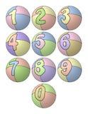 Balloon Numbers Stock Photos