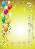 Balloon o fundo Imagens de Stock Royalty Free