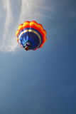 Balloon. One Balloon in to Blue sky Royalty Free Stock Image