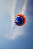Balloon. One Balloon in to Blue sky Royalty Free Stock Photos