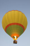 Balloon Over India Stock Photo