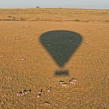 Balloon over the Masai Mara Stock Photography