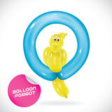 Balloon Parrot Illustration Royalty Free Stock Images
