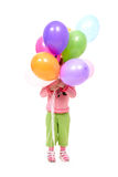 Balloon party Stock Photo