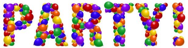Balloon party Stock Photo