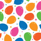Balloon pattern Royalty Free Stock Images