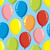 Balloon pattern Royalty Free Stock Image