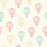 Balloon pattern Stock Photography