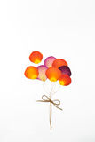 Balloon from press rose flower Stock Photo