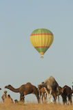 Balloon at the Pushkar Camel Fair Stock Photos