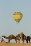 Balloon at the Pushkar Camel Fair Stock Photos