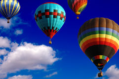Balloon Race Royalty Free Stock Photo