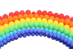 Balloon rainbow Stock Photos