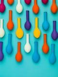 Balloon raindrops Stock Photo