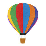 Balloon  recycled paper background Royalty Free Stock Images