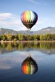 Balloon Reflection Stock Image
