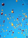 Balloon Release At Virginia Tech Royalty Free Stock Photo
