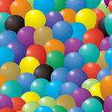 Balloon repeat Royalty Free Stock Photos
