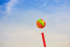 Balloon and ribbon Royalty Free Stock Image