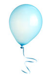 Balloon with ribbon isolated Royalty Free Stock Photo
