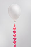 Balloon with ribbon Stock Image