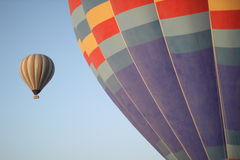 Balloon Ride. With 2 balloons Stock Image