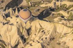 Balloon ride Cappadoccia, Anatolia, Turkey Stock Images