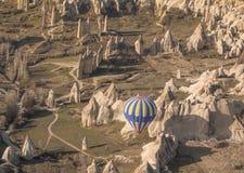 Balloon ride Cappadoccia, Anatolia, Turkey Stock Photos