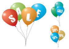 Balloon sale Royalty Free Stock Image