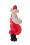 Balloon santa Stock Photo