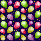 Balloon seamles Royalty Free Stock Image