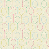 Balloon seamless pastel color background Royalty Free Stock Images