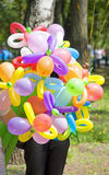 Balloon seller Royalty Free Stock Images