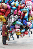 Balloon seller Royalty Free Stock Image