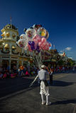 Balloon Seller - Magic Kingdom, WDW Royalty Free Stock Image