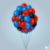 Balloon set art object Stock Photos