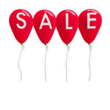 Balloon with single word SALE stock image