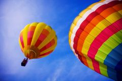 Balloon in the sky Stock Photos