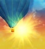 Balloon in the Sky Royalty Free Stock Photos