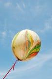Balloon on sky backgroud Stock Image