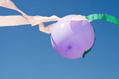 Balloon with sky Royalty Free Stock Photo