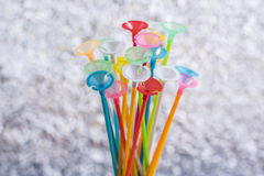 Balloon Stick Stock Photography
