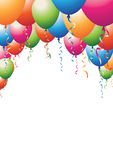 Balloon top Royalty Free Stock Images