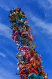 Balloon tower Stock Images